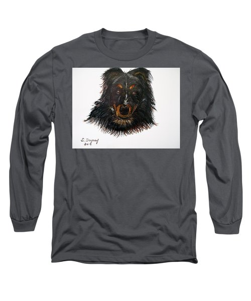 Border Collie Cross  Long Sleeve T-Shirt