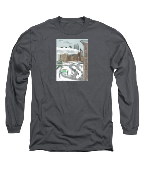 Boston After The Blizzard Long Sleeve T-Shirt