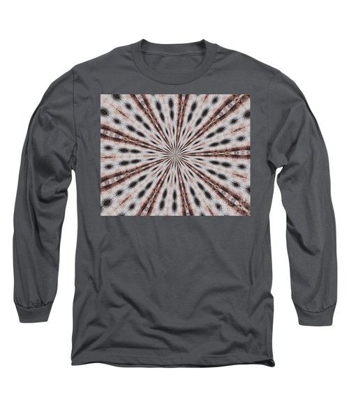 Boston Terrier Mandala Long Sleeve T-Shirt