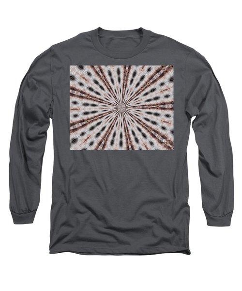 Boston Terrier Mandala Long Sleeve T-Shirt
