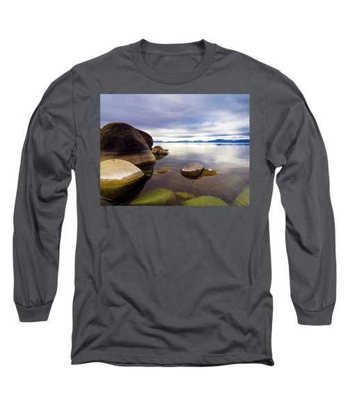 Boulders At Sand Harbor Long Sleeve T-Shirt