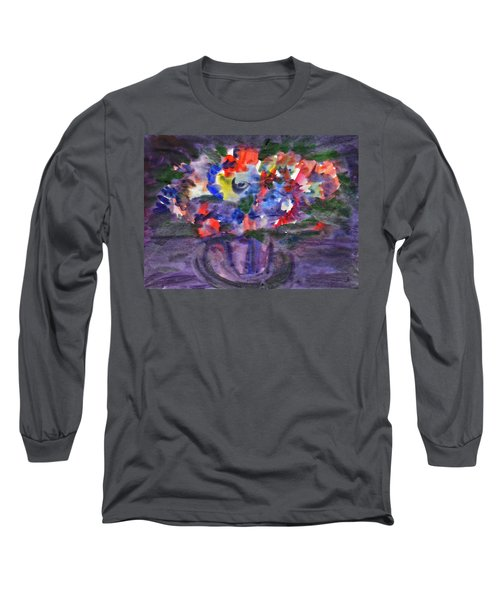 Bouquet In The Dark Long Sleeve T-Shirt