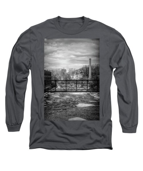 Bridge Over The Sugar River Long Sleeve T-Shirt