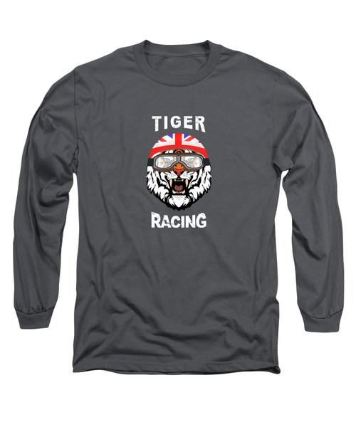 British Tiger Racing Long Sleeve T-Shirt