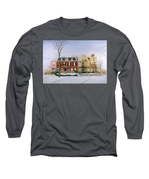 Broom Street Snow Long Sleeve T-Shirt