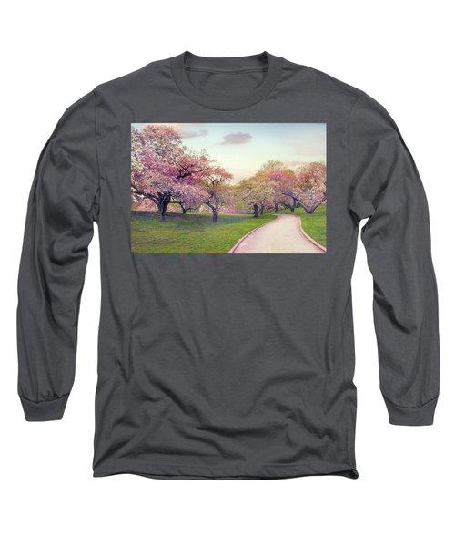 The Cherry Path Long Sleeve T-Shirt