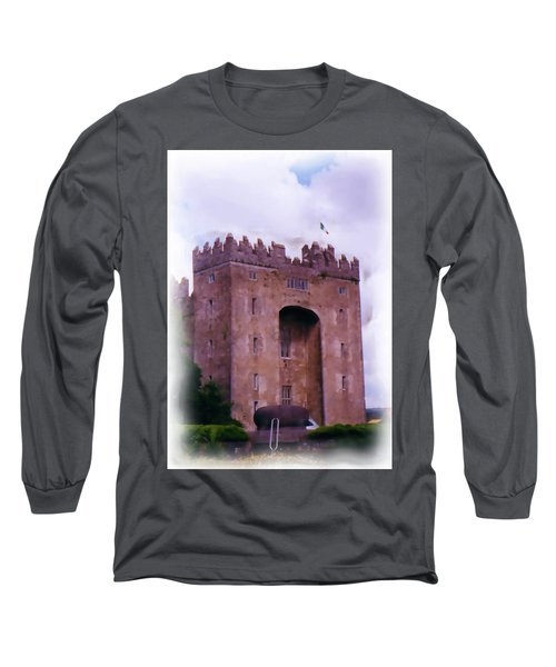 Bunratty Castle Painting Long Sleeve T-Shirt