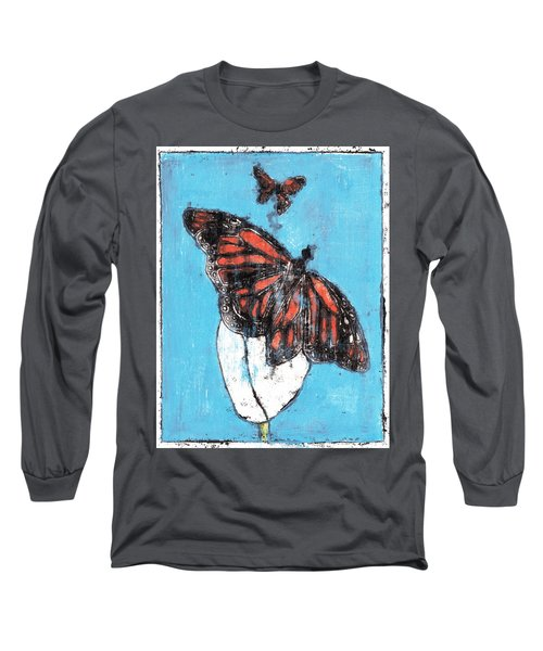 Butterfly Garden Summer 1 Long Sleeve T-Shirt
