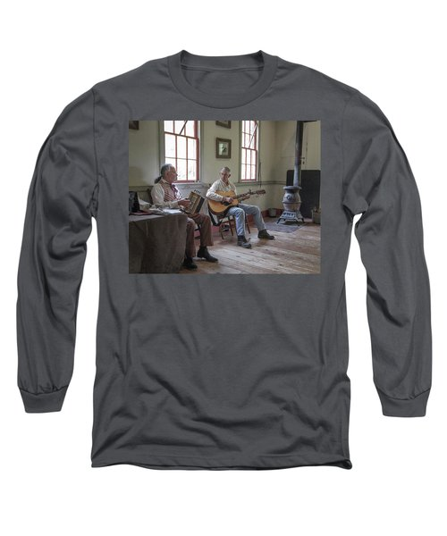 Long Sleeve T-Shirt featuring the photograph Cajuns by Jim Mathis