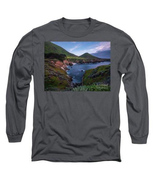 California Coastal Inlet Spring Long Sleeve T-Shirt