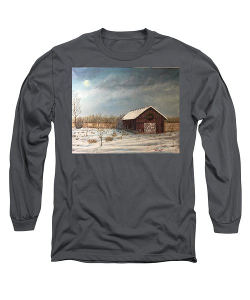 Cambridge Christmas Long Sleeve T-Shirt