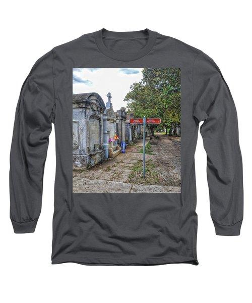 Cemetery #1 Long Sleeve T-Shirt