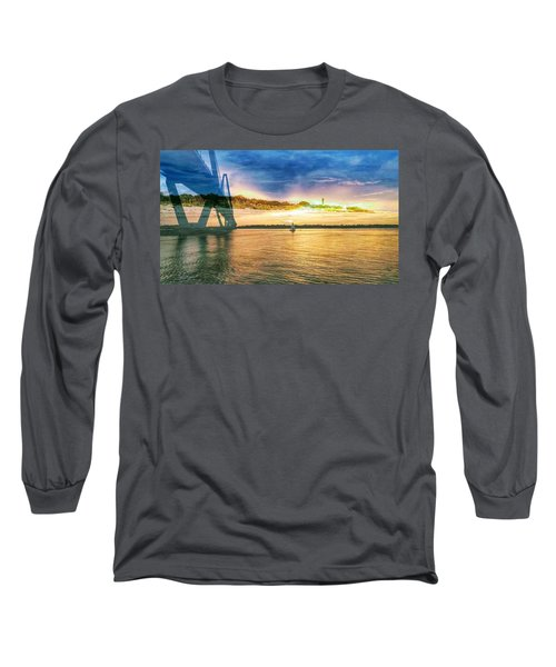 Charleston Harbor Sc Long Sleeve T-Shirt