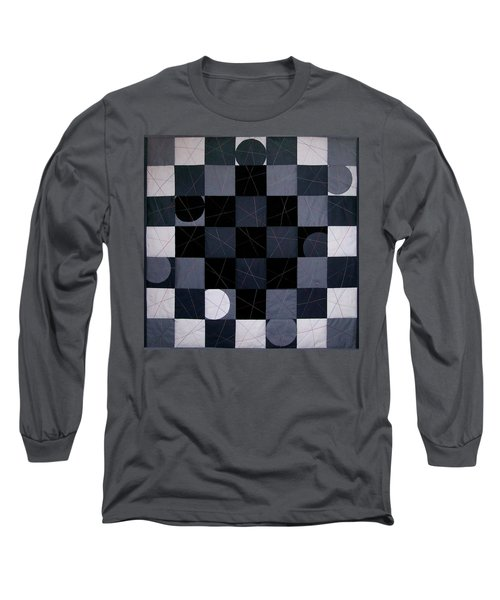 Checkers And Pick-up-sticks Long Sleeve T-Shirt