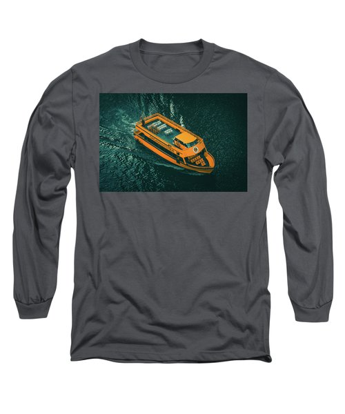 Chicago Taxi Long Sleeve T-Shirt