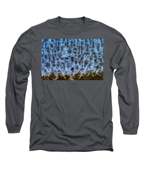 Long Sleeve T-Shirt featuring the photograph Chiseled In Light by Michael Hubley