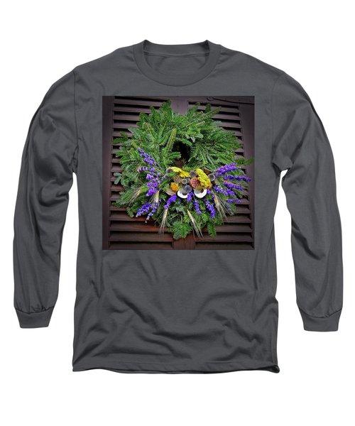 Christmas Blues Long Sleeve T-Shirt