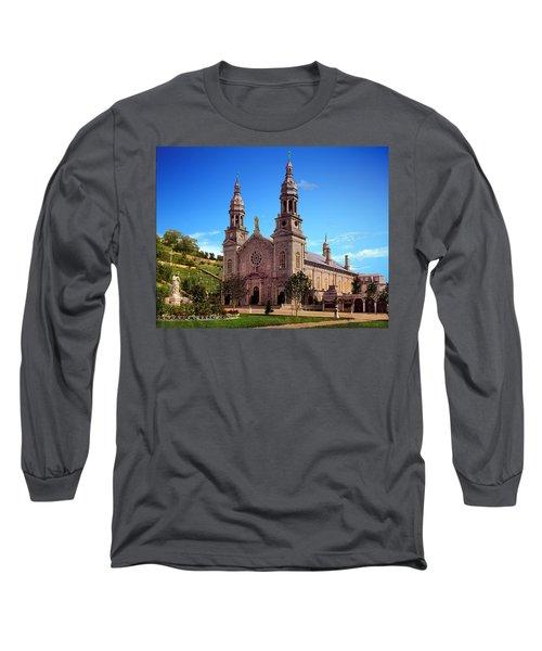 Church Of Ste Anne De Beaupre Long Sleeve T-Shirt