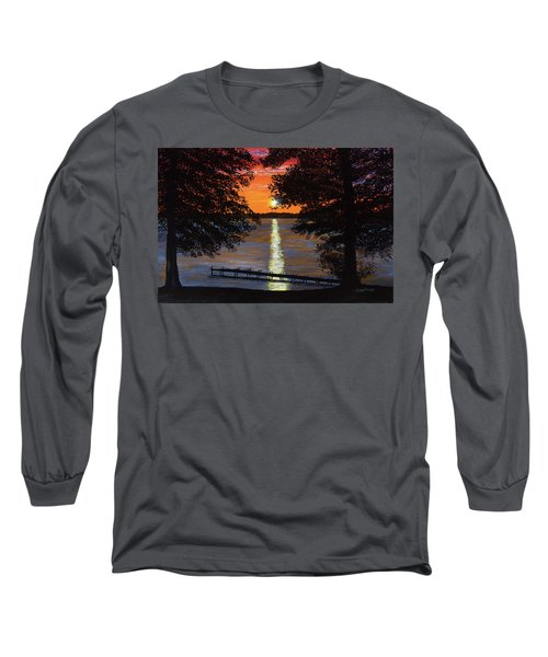 Cindy Beuoy - Lake Maxinkuckee Long Sleeve T-Shirt