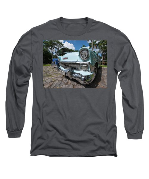 Classic Cuban Chevy Long Sleeve T-Shirt