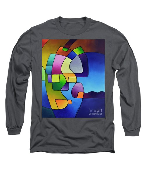 Clear Focus 2, Canvas Three Long Sleeve T-Shirt