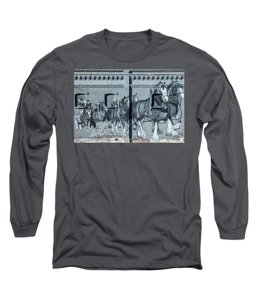 Clydesdale Mural Long Sleeve T-Shirt