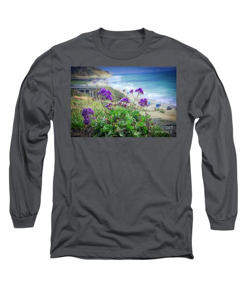 Coastline Color Long Sleeve T-Shirt