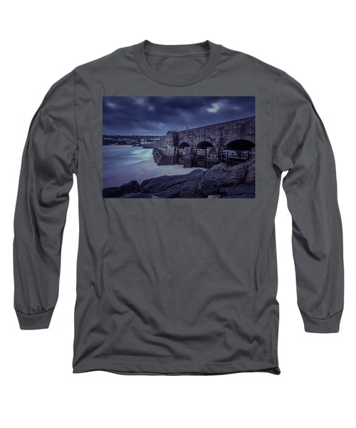 Cold Mood On The Pier Long Sleeve T-Shirt