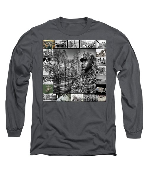 Colonel Trimble Collage Long Sleeve T-Shirt