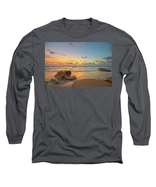 Colorful Seascape Long Sleeve T-Shirt