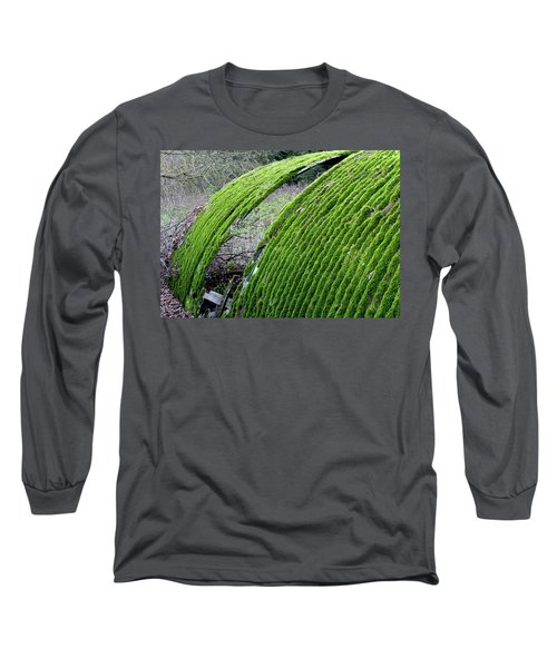 Colours. Green Long Sleeve T-Shirt