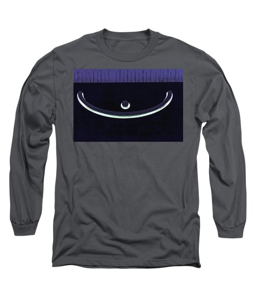 Colours. Purple Long Sleeve T-Shirt
