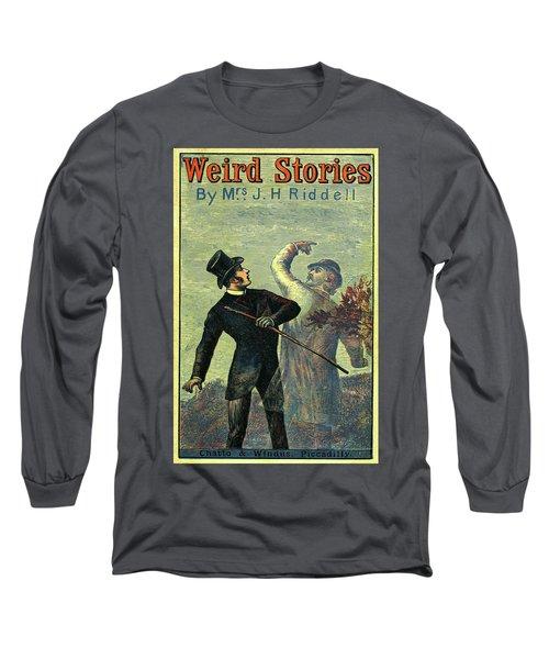 Victorian Yellowback Cover For Weird Stories Long Sleeve T-Shirt