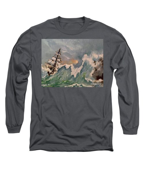 Crashing Waves Long Sleeve T-Shirt