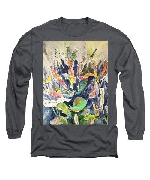 Croton Plant Long Sleeve T-Shirt