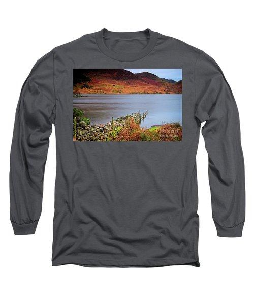 Crummock Water - English Lake District Long Sleeve T-Shirt