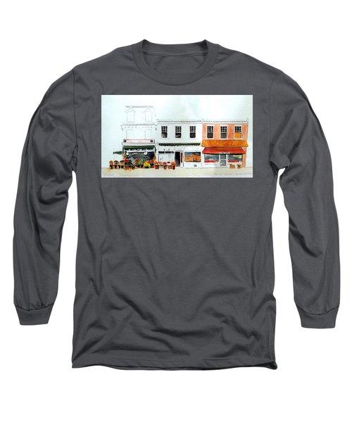 Cutrona's Market On King St. Long Sleeve T-Shirt