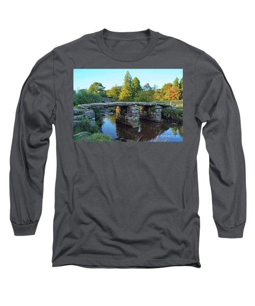 Dartmoor Clapper Bridge Long Sleeve T-Shirt