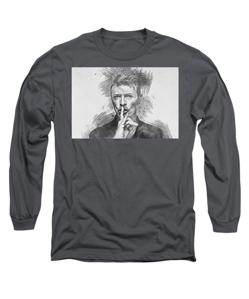 David Bowie. Long Sleeve T-Shirt