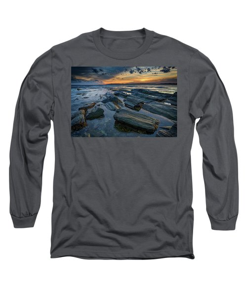 Day's End In Kettle Cove Long Sleeve T-Shirt