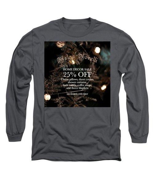 December Offers Long Sleeve T-Shirt