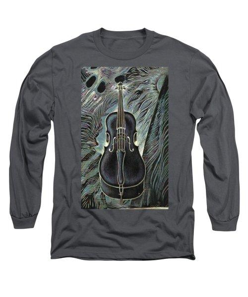 Deep Cello Long Sleeve T-Shirt