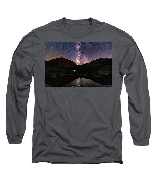 Deep Sky Fishing Long Sleeve T-Shirt