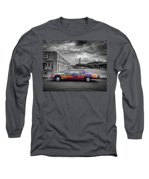 Long Sleeve T-Shirt featuring the photograph Delta Blues Limo by Jim Mathis