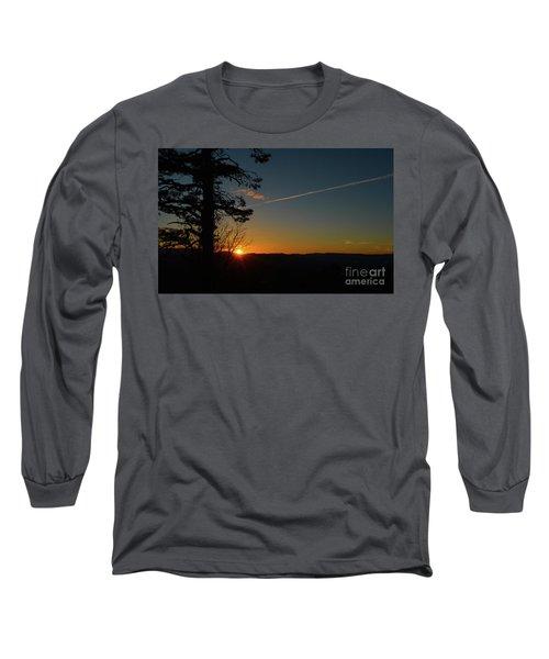 Dipping Down Long Sleeve T-Shirt