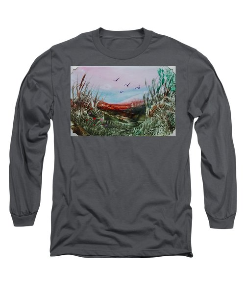 Disappearing Pathway Long Sleeve T-Shirt