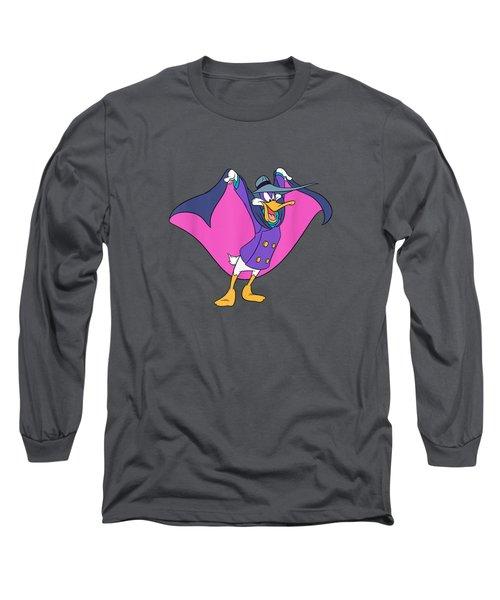 Disney Darkwing Duck  T-shirt Long Sleeve T-Shirt