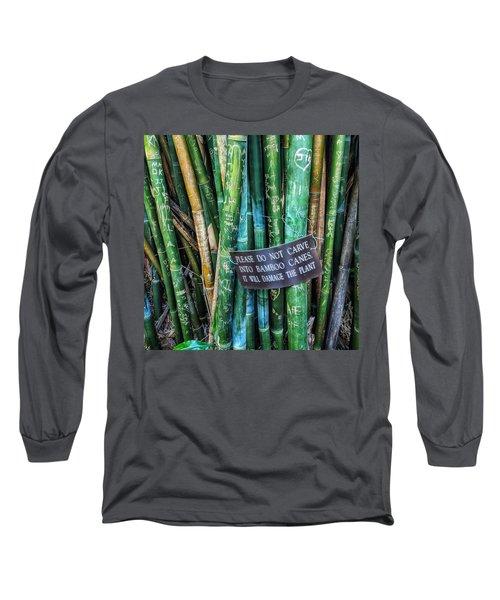 Do Not Carve Long Sleeve T-Shirt