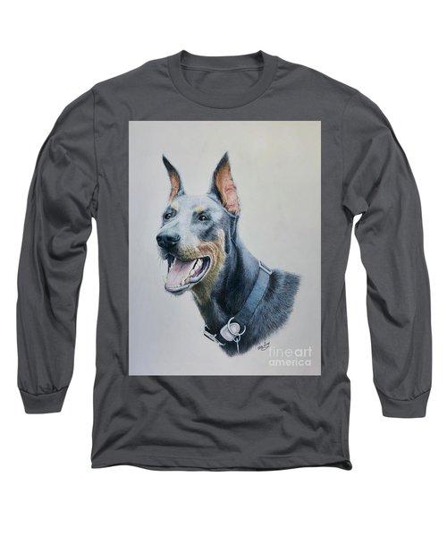 Doberman Long Sleeve T-Shirt