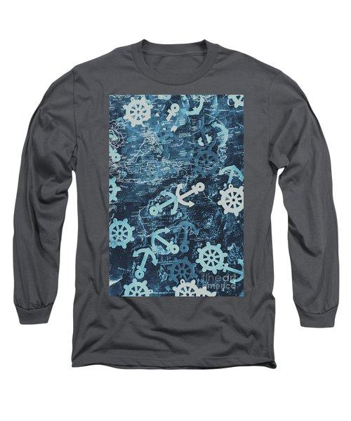 Docks And Ports Long Sleeve T-Shirt